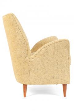 Pair of Yellow Italian Midcentury Style Lounge Chairs - 1096091