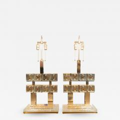 Pair of butterfly gallery table lamps - 1309089