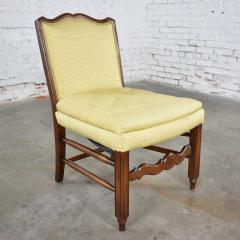 Pair of georgian revival his and hers accent chairs in golden yellow - 1682314