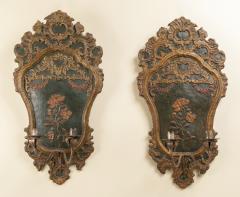 Pair of italian 18th century sconces - 1831389