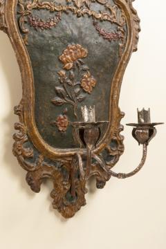 Pair of italian 18th century sconces - 1831401