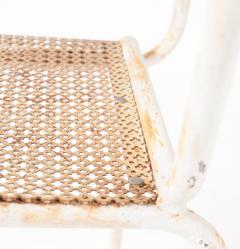Pair of mid century 1950s Mategot style metal armchairs - 847782