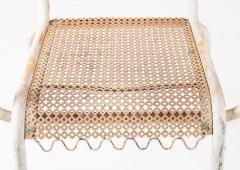 Pair of mid century 1950s Mategot style metal armchairs - 847784