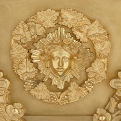 Pair of monumental gilt bronze and glass floor standing candelabra - 2013575