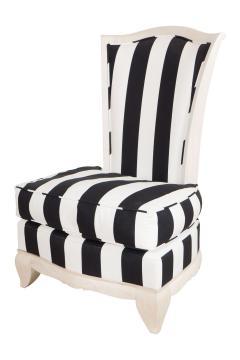 Pair of petite slipper chairs - 1165211