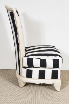 Pair of petite slipper chairs - 1165213