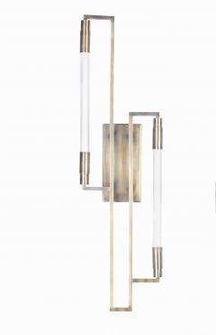 Pair of sconces in the style of Jacques ADNET - 1034722