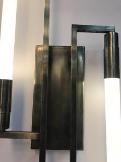 Pair of sconces in the style of Jacques ADNET - 1034725
