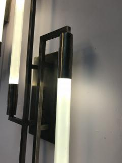 Pair of sconces in the style of Jacques ADNET - 1034727