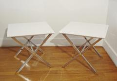 Pair of square coffee tables Italy 1975  - 1079928