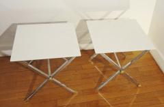 Pair of square coffee tables Italy 1975  - 1079929