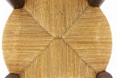 Pair of straw chairs 1940s - 2065157