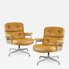 Pair of swivel Time Life Chairs designed for Herman Miller 1960 - 2120814