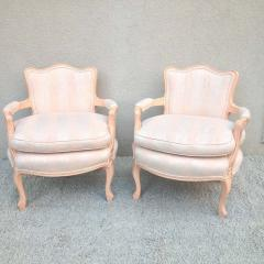 Pair petite Fauteuil Louis XV Chairs - 1823817