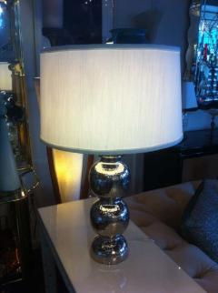 Pairs hammered Lamps - 1868598