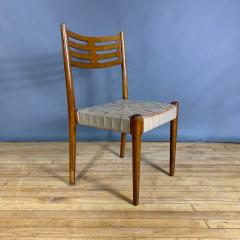 Palle Suenson 1940s Palle Suenson Leather Strap Chair for Holger Knak Jensen - 1341352