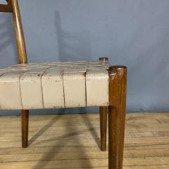 Palle Suenson 1940s Palle Suenson Leather Strap Chair for Holger Knak Jensen - 1341354