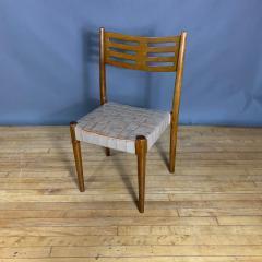 Palle Suenson 1940s Palle Suenson Leather Strap Chair for Holger Knak Jensen - 1341356