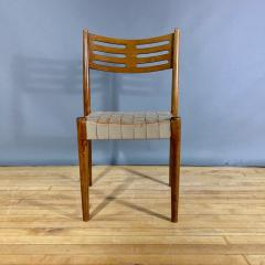 Palle Suenson 1940s Palle Suenson Leather Strap Chair for Holger Knak Jensen - 1341357
