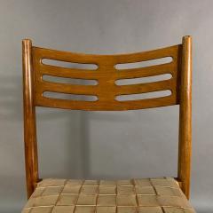 Palle Suenson 1940s Palle Suenson Leather Strap Chair for Holger Knak Jensen - 1341358
