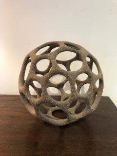 Pamela Sunday Pamela Sunday Hand Built Stoneware Cellular Sphere - 1108989