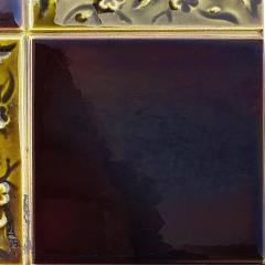 Panel of 9 Glazed Art Deco Relief Tiles by S A Des Pavillions 1930s - 1298723