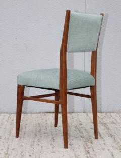 Paolo Buffa 1960s Mid Century Modern Oak Italian Dining Chairs - 2027880