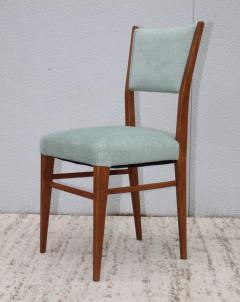 Paolo Buffa 1960s Mid Century Modern Oak Italian Dining Chairs - 2027881