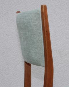 Paolo Buffa 1960s Mid Century Modern Oak Italian Dining Chairs - 2027882