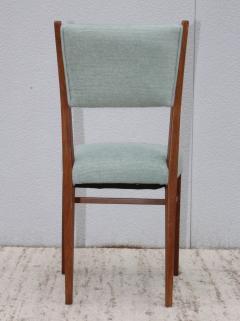 Paolo Buffa 1960s Mid Century Modern Oak Italian Dining Chairs - 2027883
