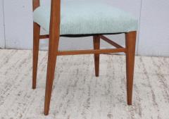 Paolo Buffa 1960s Mid Century Modern Oak Italian Dining Chairs - 2027884