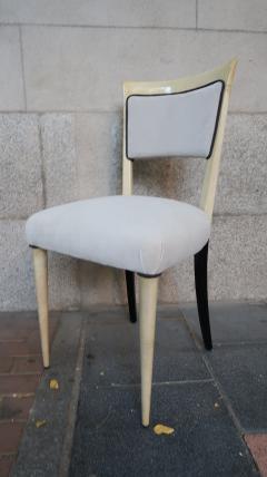 Paolo Buffa 4 Chairs attributed to Paolo Buffa Italy 1950 - 419340