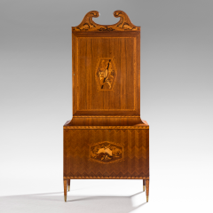 Paolo Buffa An Exceptional Marquetry and Rosewood Cabinet - 37809