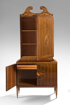 Paolo Buffa An Exceptional Marquetry and Rosewood Cabinet - 37815