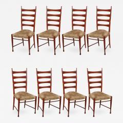 Paolo Buffa Eight Dining Chairs by Paolo Buffa - 464865
