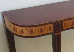 Paolo Buffa Fine Italian Modern Parquetry Console Table - 725220