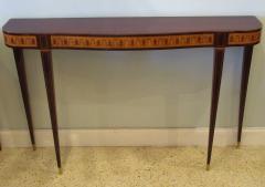 Paolo Buffa Fine Italian Modern Parquetry Console Table - 725223