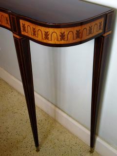 Paolo Buffa Fine Italian Modern Parquetry Console Table - 725344