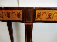 Paolo Buffa Fine Italian Modern Parquetry Console Table - 725345