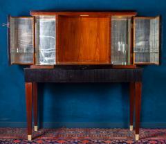 Paolo Buffa Fine Midcentury Trumeau Bar Cabinet Attr to Paolo Buffa 1950 - 1995821