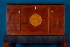 Paolo Buffa Fine Midcentury Trumeau Bar Cabinet Attr to Paolo Buffa 1950 - 1995824