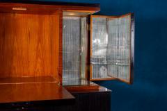 Paolo Buffa Fine Midcentury Trumeau Bar Cabinet Attr to Paolo Buffa 1950 - 1995826