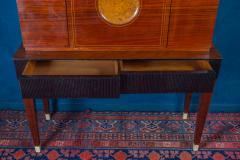 Paolo Buffa Fine Midcentury Trumeau Bar Cabinet Attr to Paolo Buffa 1950 - 1995829