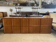Paolo Buffa Italian Modern Fruitwood Parquetry Inlaid Cabinet Paolo Buffa - 1920132