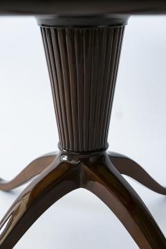 Paolo Buffa Italian Modern Round Onyx Top Table - 1009726