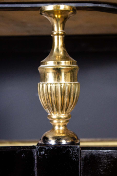 Paolo Buffa Italian Modernist Midcentury Oval Shaped Gilt Bronze Console Table - 1622656