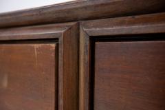 Paolo Buffa Italian Sideboard by Paolo Buffa in Walnut and Brass 1950s - 1888857