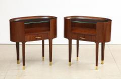 Paolo Buffa Oval Side Tables by Paolo Buffa - 1792780