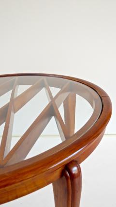 Paolo Buffa PAOLO BUFFA Grid Pattern Walnut Coffee Table 1940 - 1706749
