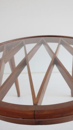 Paolo Buffa PAOLO BUFFA Grid Pattern Walnut Coffee Table 1940 - 1706753